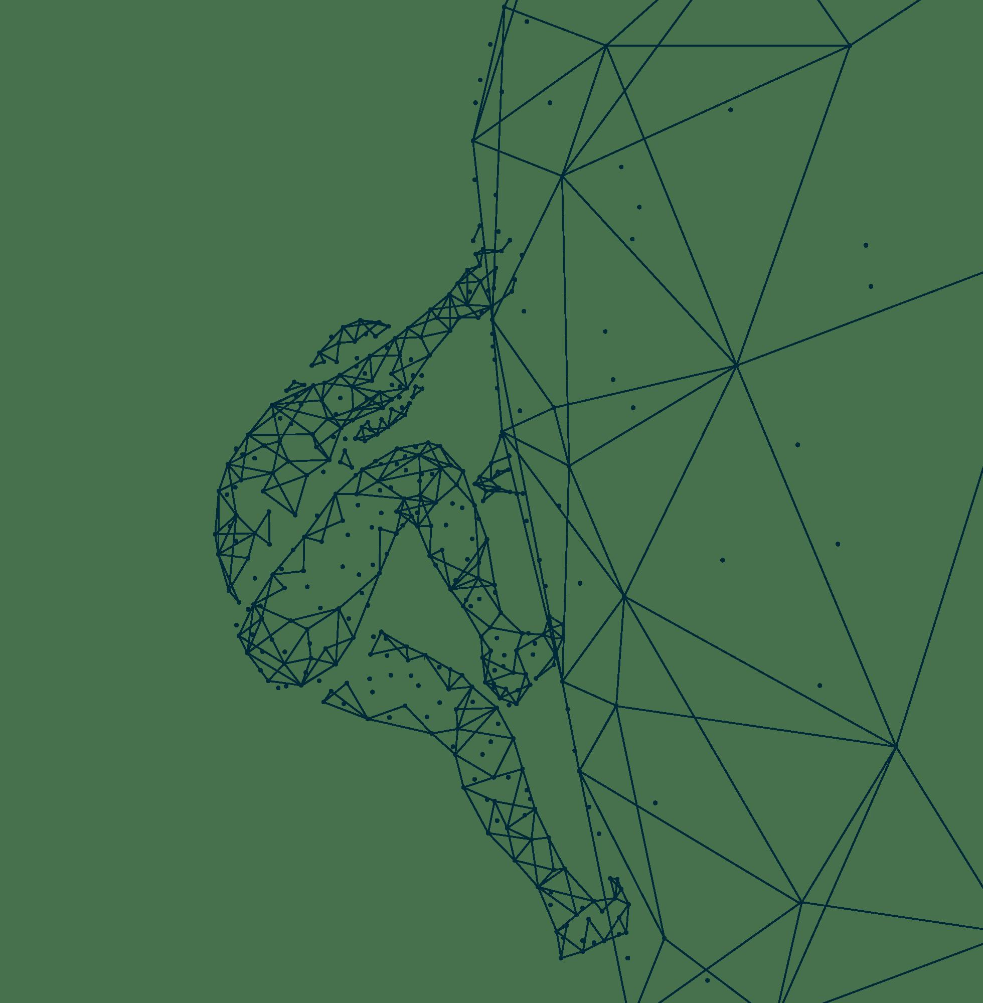 Running Geometric Man